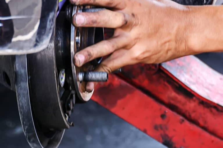 close-up-of-a-brake-rotor-repair