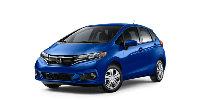 Honda Fit Blue