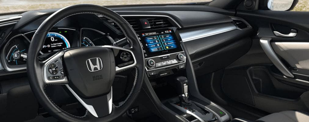 2018 Civic Coupe Interior