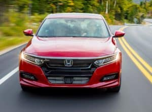 Honda Accord in Red