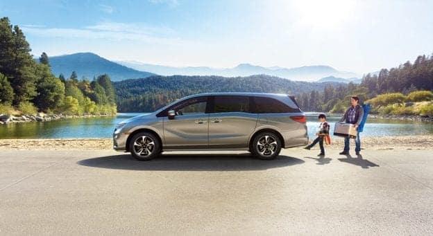 2019 Honda Odyssey Silver