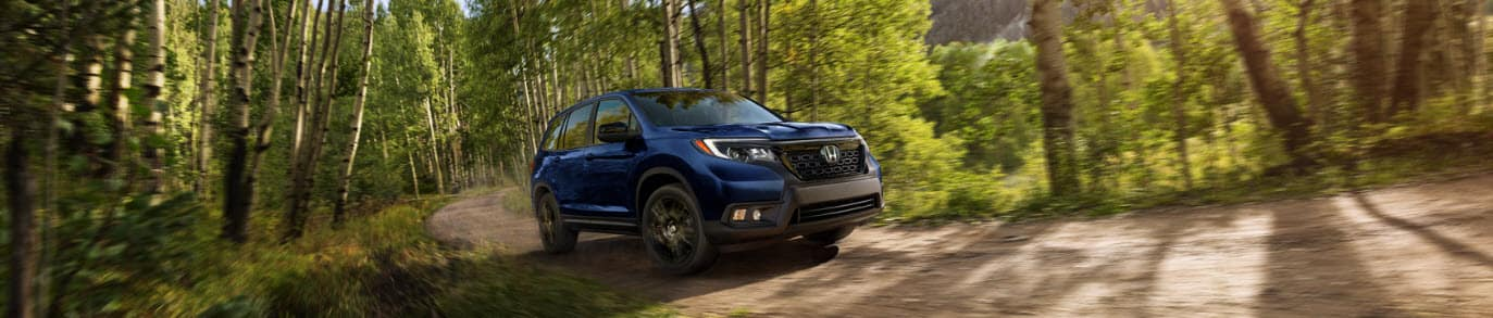 Honda Passport Blue