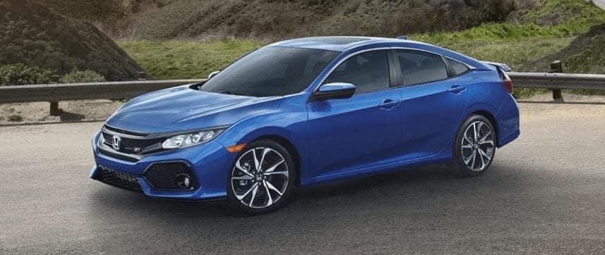 Honda Si Blue