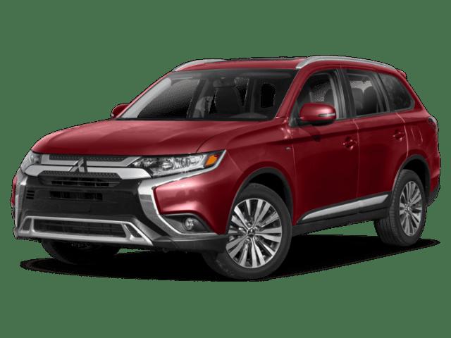 2019 Mitsubishi Outlander Angled