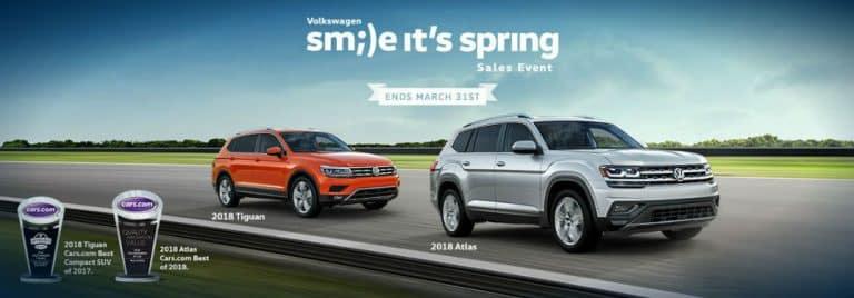 Spring at Brandon Volkswagen