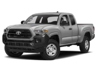 Angled view of the Toyota Tacoma