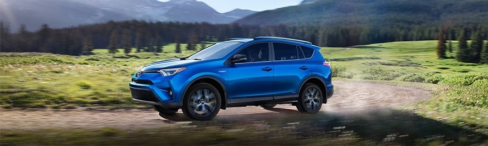 2018 RAV4 Hybrid, part of the Toyota Hybrid model lineup