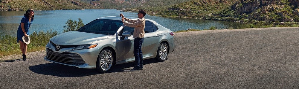 2018 Toyota Camry Hybrid, part of the Toyota Hybrid Lineup