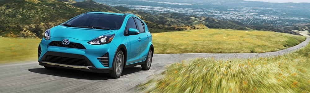 2017 Toyota Prius c - part of the Toyota Hybrid Lineup