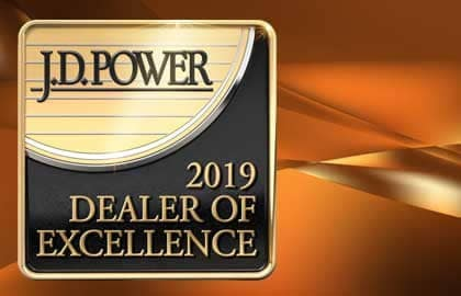 2019 JD Power Dealer of Excellence