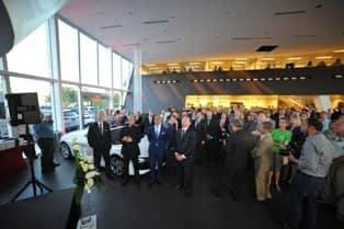 showroom of Audi Stuart