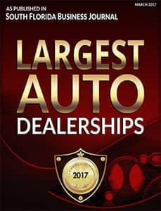 Largest Dealership award 2017