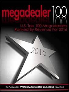 Megadealer award