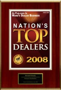 Nations Top Dealers 2008