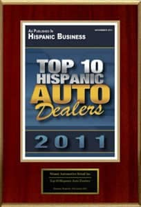 top 10 hispanic auto dealers