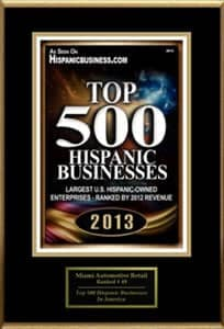 top 500 Hispanic Business
