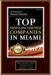 Top hispanic owned companies in Miami