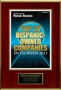 Top 20 Hispanic companies
