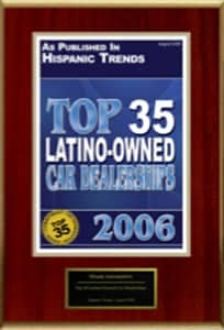 Top 35 Latino Car Dealerships