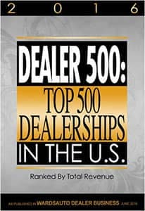 Top 500 Dealerships in the US