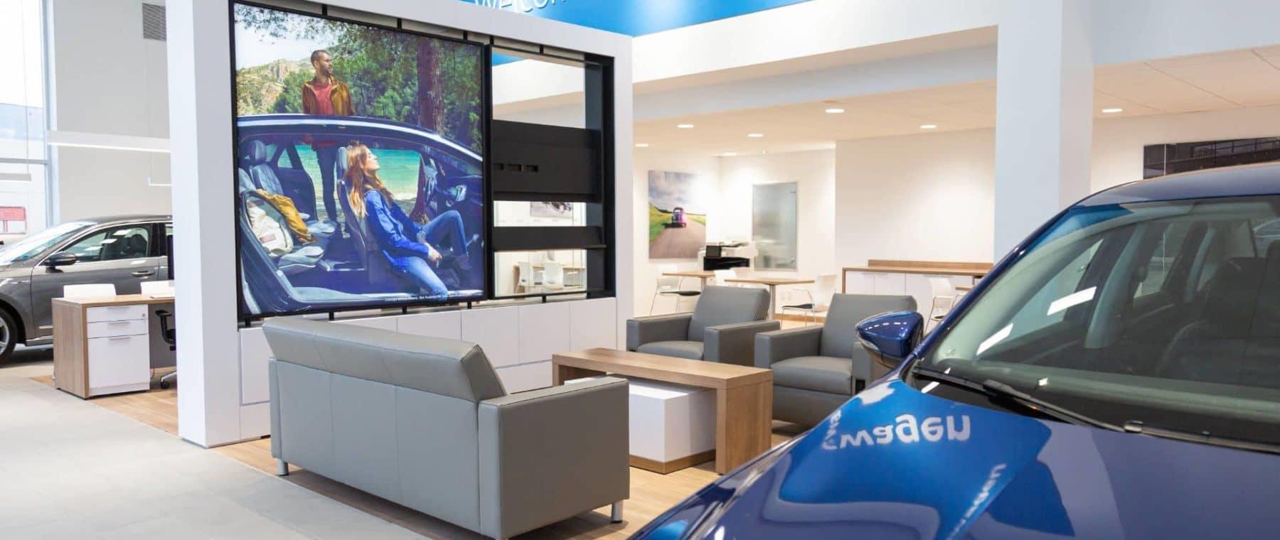 dealership interior