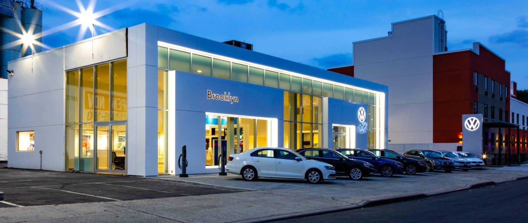 dealership exterior