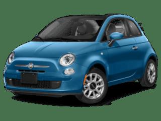 2019 FIAT 500c angled