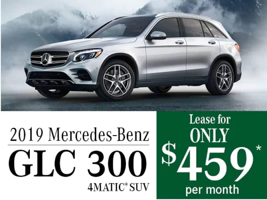 MB Offer Image - 933x700 - 2019 Mercedes-Benz GLC 300 Offers