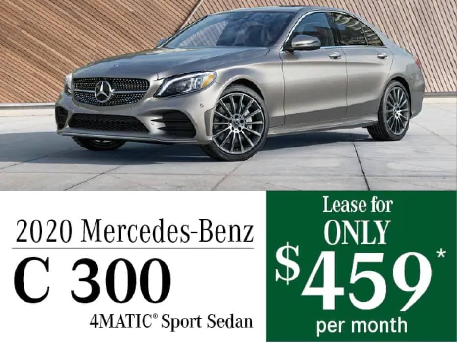 MB Offer Image - 933x700 - 2020 Mercedes-Benz C 300 Lease Offer