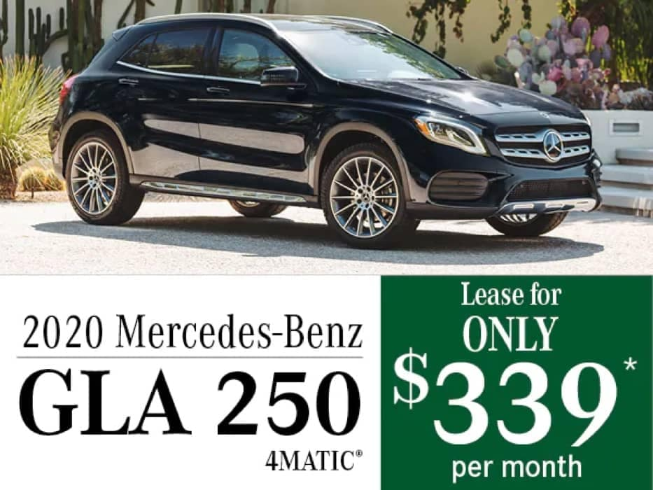 MB Offer Image - 933x700 - New Mercedes-Benz GLA 250 Offers