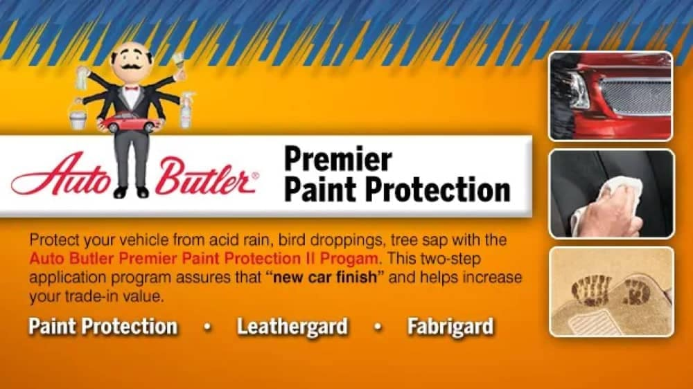 Premier Paint Protection - describing the Auto Butler Premier Paint Protection II Program