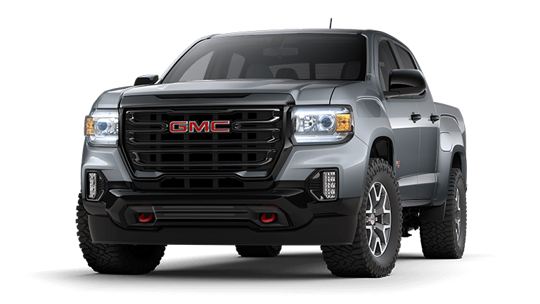2021 GMC Canyon AT4 in Satin Steel