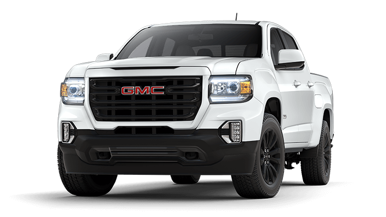 2021 GMC Canyon Elevation in Summit White