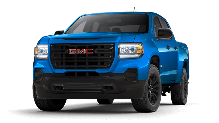 2021 GMC Canyon Elevation Standard in Dynamic Blue
