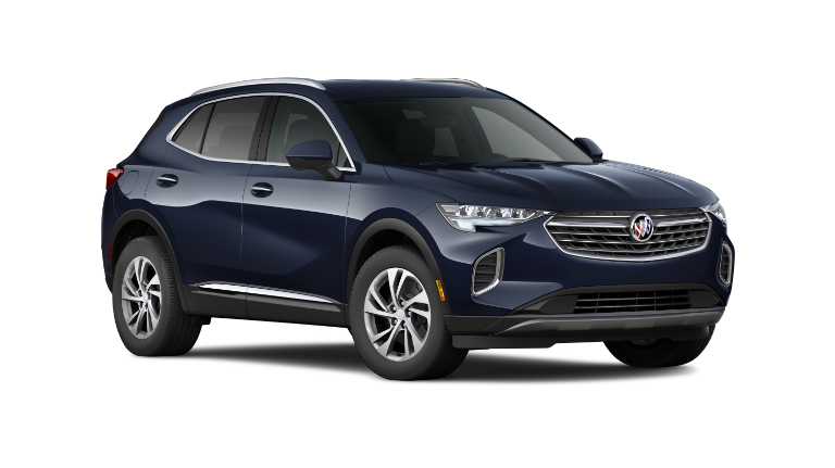 2021 Buick Envision in blue exterior transparent vehicle image