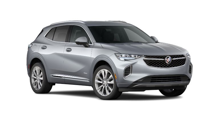 2021 Buick Envision in white exterior
