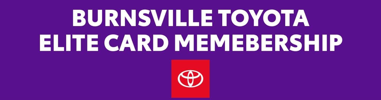 Elite Card Membership banner