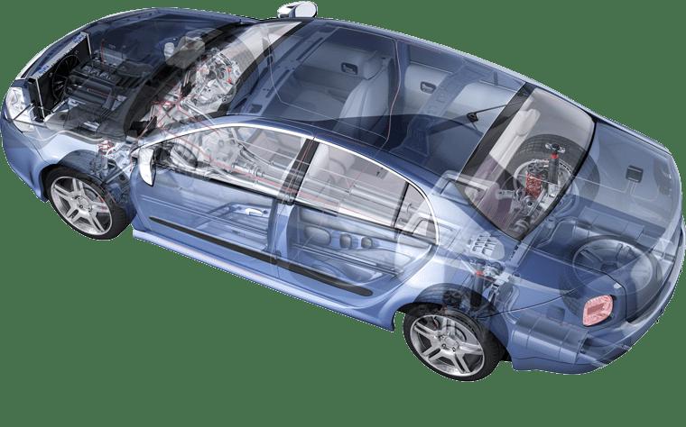 whyCar image of car showing its skeleton