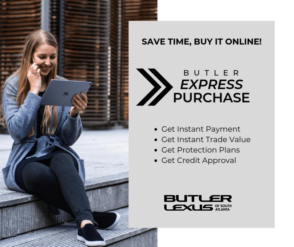 Butler Lexus express purchase image