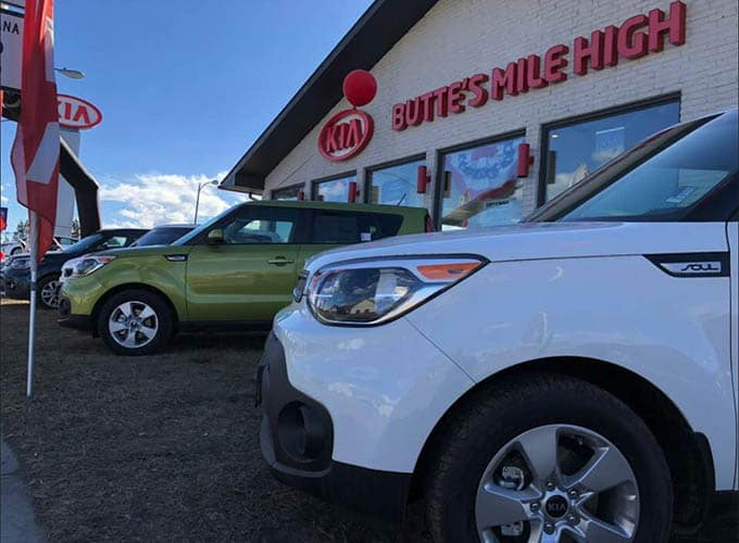 New And Used Kia Car Dealer In Butte Butte S Mile High Kia