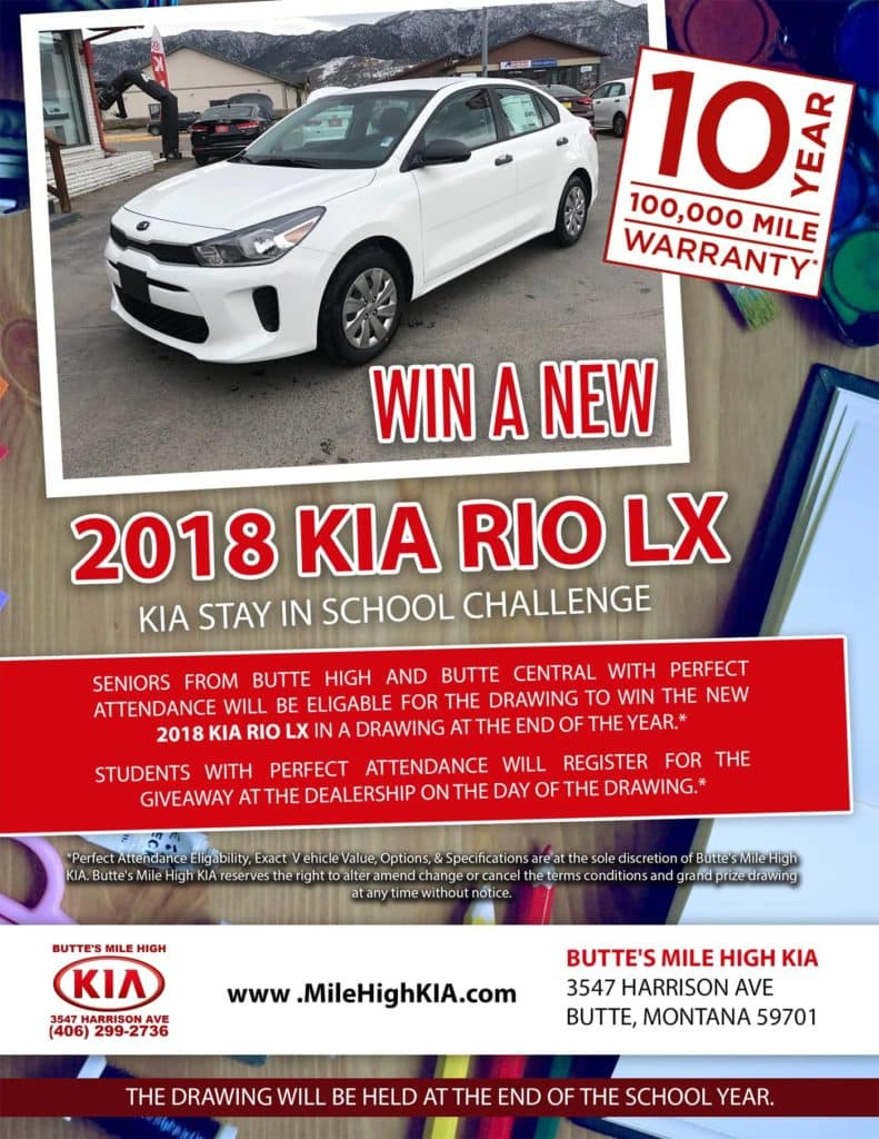 Kia Stay In School Challenge