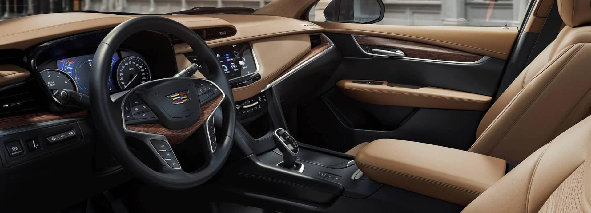 Cadillac XT5 Interior tan