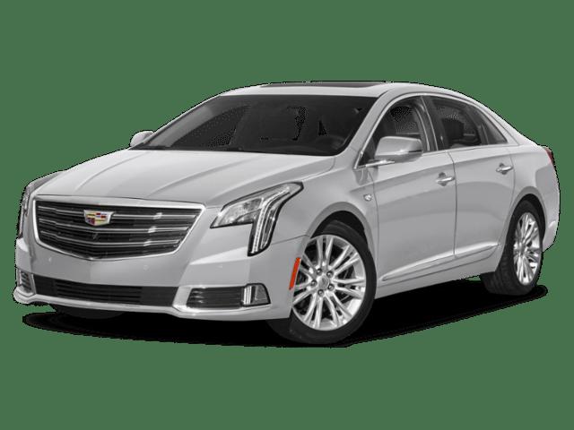 2019 Cadillac XTS silver angled