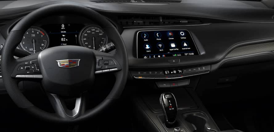 2021 Cadillac XT4 interior dashboard