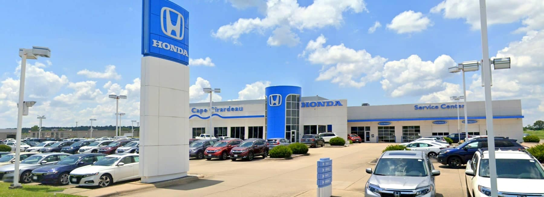 Car Dealership during the day