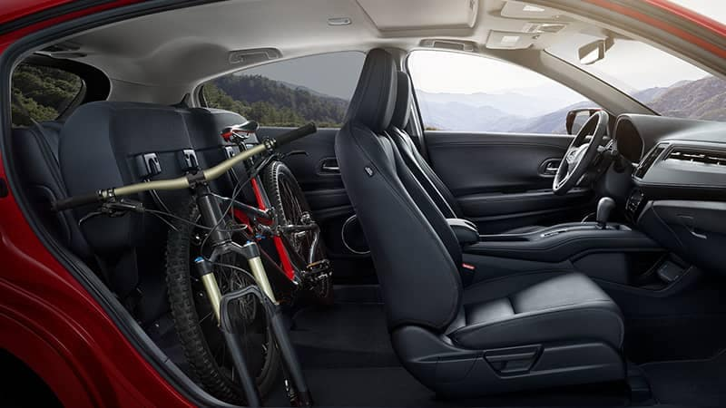 2019 Honda HR-V Interior Rear Space with Bike