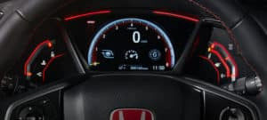 2019 Honda Civic Type R Interior Meters and Gauges