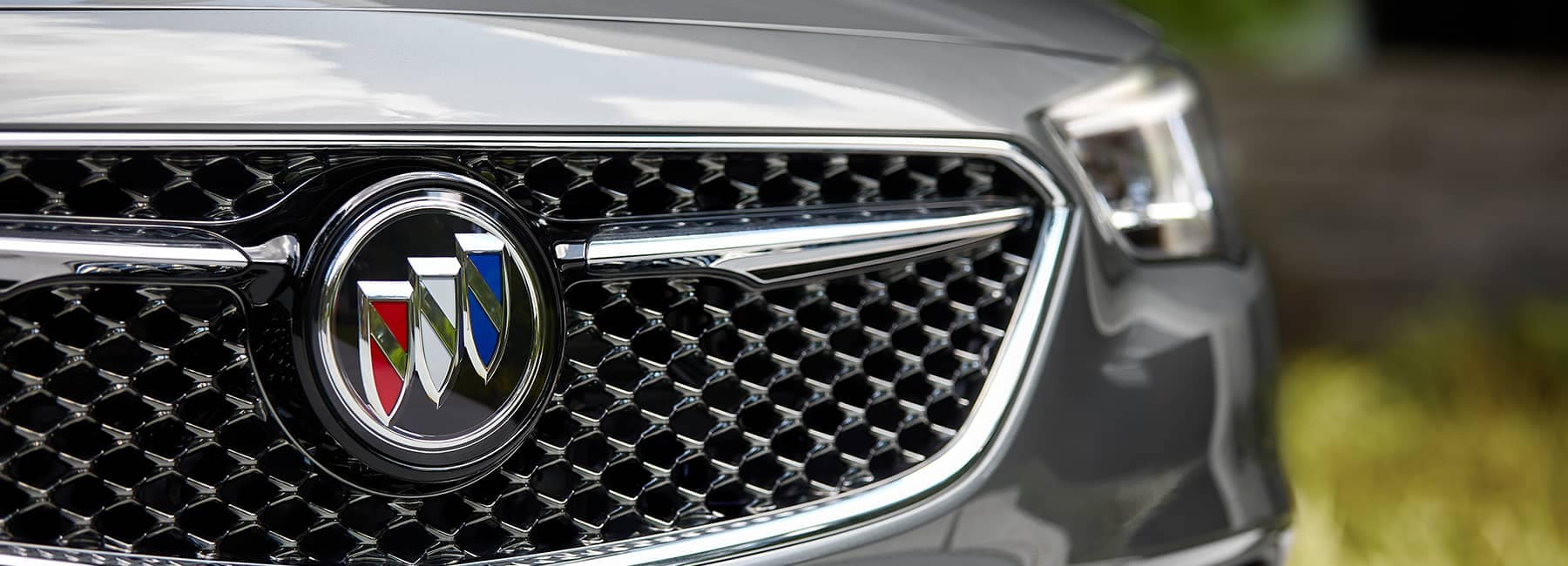 Grey 2020 Buick Regal Sportback Front Grille