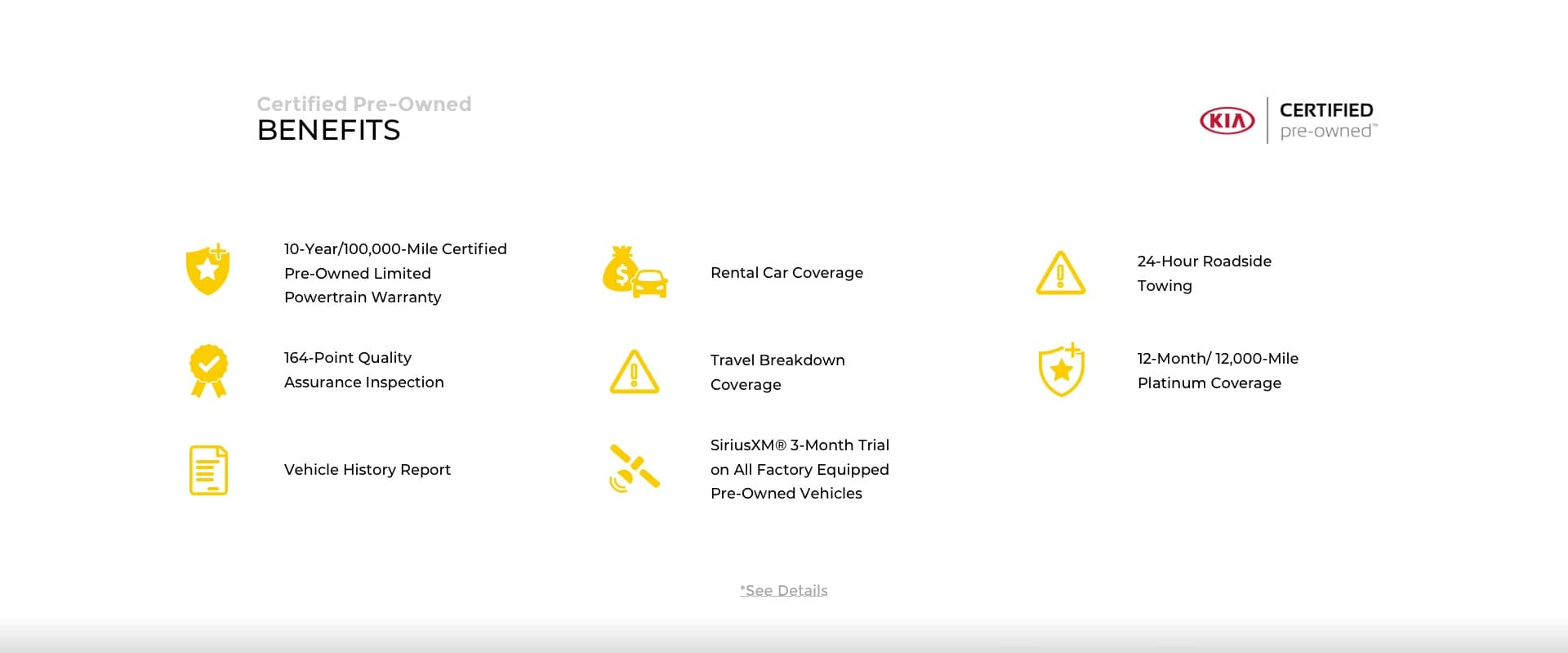Hyundai Certified Pre-Owned Benefits Slide