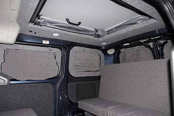 Pop-Top Interior Front View